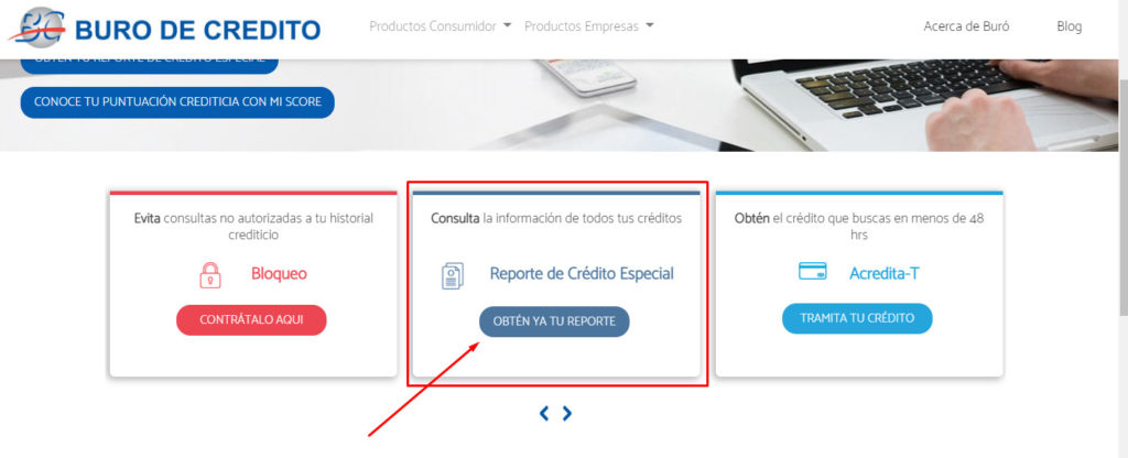 consultar buró de crédito online